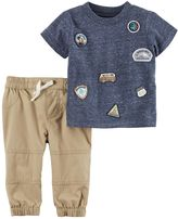 Carter's Baby Boy Road Trip Tee & Pants Set