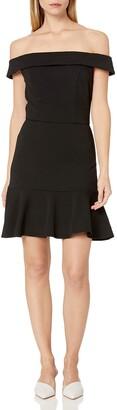 ABS by Allen Schwartz Women's Off Shoulder Dress