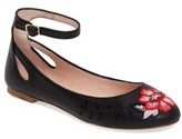Kate Spade Women's Waren Embroidered Flat
