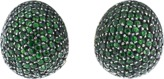 Yossi Harari Roxanne Pave Tsavorite Earrings
