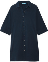 MiH Jeans Roller Cotton Shirt Dress - Navy