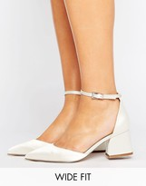 Asos Starling Wide Fit Bridal Pointed Heels
