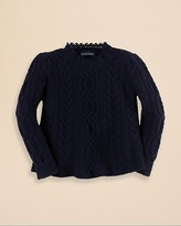 Ralph Lauren Girls' Cashmere Swing Sweater - Sizes 2-6X