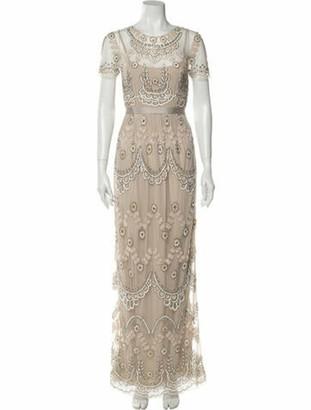 Needle & Thread Lace Pattern Long Dress w/ Tags