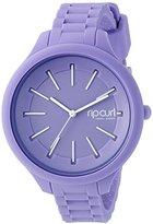 Rip Curl Women's A2803G-PUR Horizon Silicone Analog Display Analog Quartz Purple Watch