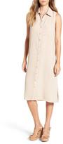 Love Squared Sleeveless Shirtdress