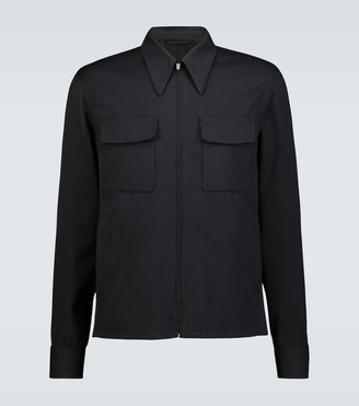Lemaire Technical wool-blend jacket