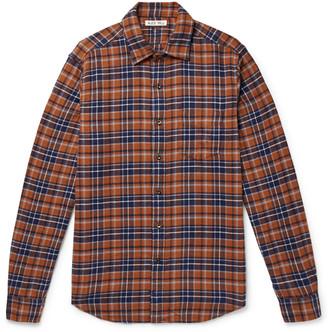 Alex Mill Checked Cotton-Flannel Shirt