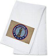 Army National Guard - Military - Insignia (100% Cotton Absorbent Kitchen Towel)
