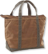 L.L. Bean Waxed Canvas Boat and Tote