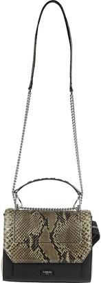 Lancel Multicolor Leather Ninon De Shoulder Bag