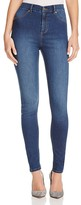 Cheap Monday Spray Skinny Jeans in Dim Blue