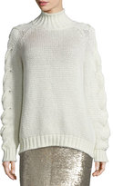 IRO Zane Alpaca-Blend Oversized Sweater, Ecru
