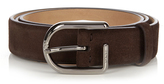 Tod's Fibbia D-buckle suede belt