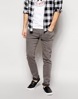 Cheap Monday Jeans Tight Skinny Fit In Mid Gray Wash