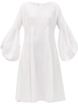 Merlette New York Arashiyama Cotton Poplin Dress - Womens - White