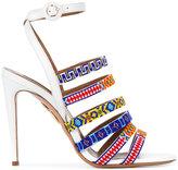 Aquazzura Masai beaded sandals