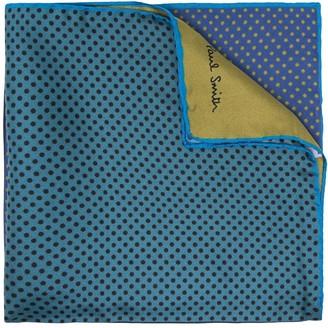 Paul Smith Colour-Block Pocket Square Silk Scarf