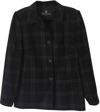 Aquascutum London Navy Wool Jacket for Women