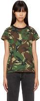 Rag & Bone Green Camo T-Shirt