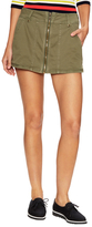 Free People Too Cool Military Skirt