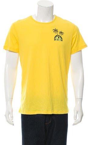 Just Cavalli Printed Crew Neck T-Shirt w/ Tags