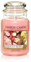 Yankee Candle Large Jar Candle, Fresh Cut Roses