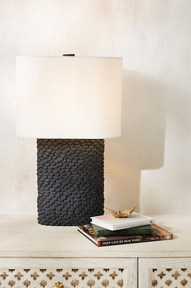 Anthropologie Kendall Table Lamp By in Black Size L
