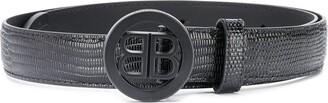 Balenciaga BB logo belt