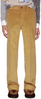 Prada Tan Corduroy Trousers