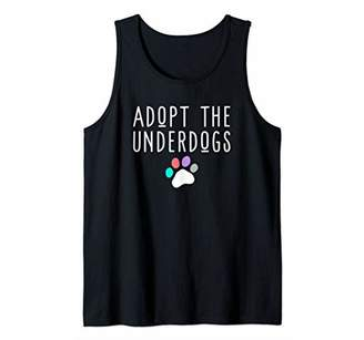 Cute Dog Adoption Or Dog Rescue Gift For Women Or Girls Tank Top