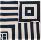 Toteme - geometric print square scarf - women - Silk - One Size