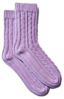 Cashmere Socks, Orchid