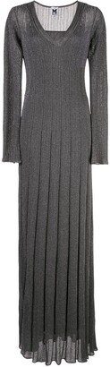 M Missoni Metallized Maxi Dress