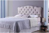 Asstd National Brand Baxton Studio Rita Upholstered Button-Tufted Scalloped Headboard