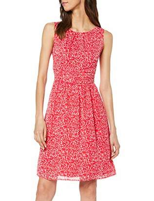 S'Oliver Women's 05.904.82.30 Party Dress, (Red AOP B), 18 (Size: )