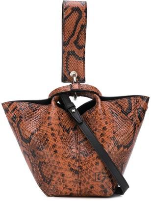 Elena Ghisellini Diana Touch bucket bag