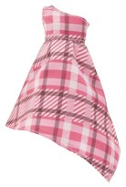 MGA Entertainment Asymmetrical Plaid Dress