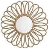 Jamie Young Jute Flower Mirror