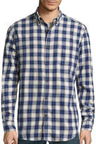 ST. JOHN'S BAY Long-Sleeve Classic-Fit Flannel Shirt