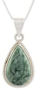 Novica Handmade Sacred Quetzal Jade Necklace