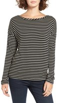 BP Women's Stripe Open Back Tee