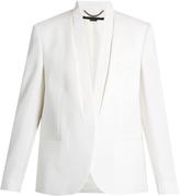 Stella McCartney Grosgrain-trimmed wool tuxedo jacket