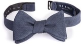 Ted Baker Men's Solid Silk Bow Tie