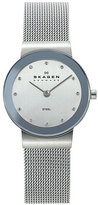 Skagen Women's Round Case Mesh Strap Watch, 26Mm