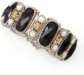 Konstantino Nykta Black Onyx & Pearl Bracelet