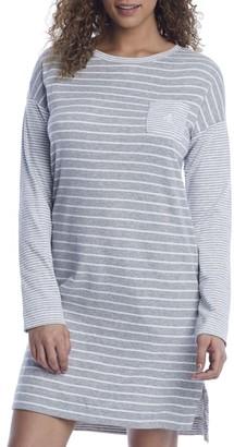 Lauren Ralph Lauren Striped Knit Sleep Shirt