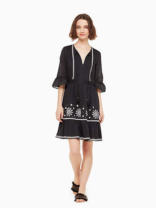 Kate Spade Mosaic Embroidered Dress