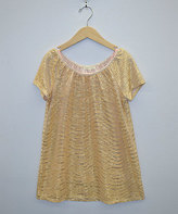 My Michelle Gold Sequin Top