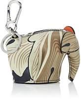 Loewe Women's Elephant Leather Coin Purse Key Chain